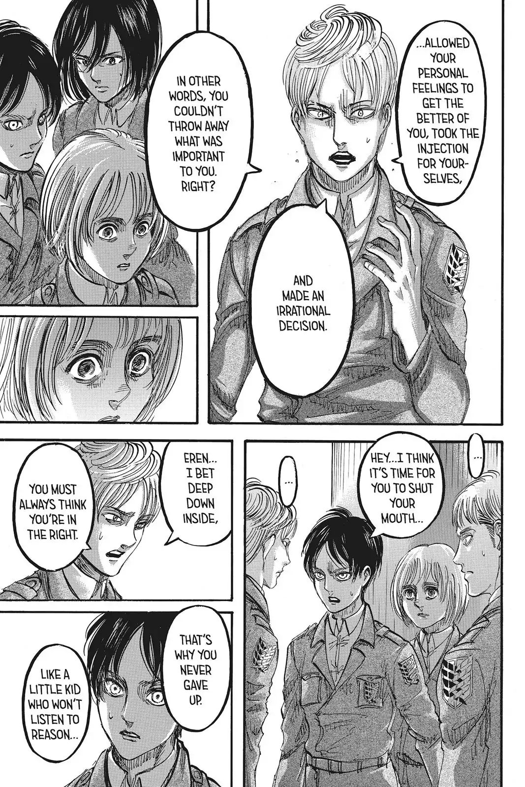 Attack on Titan Chapter 90  Online Free Manga Read Image 15