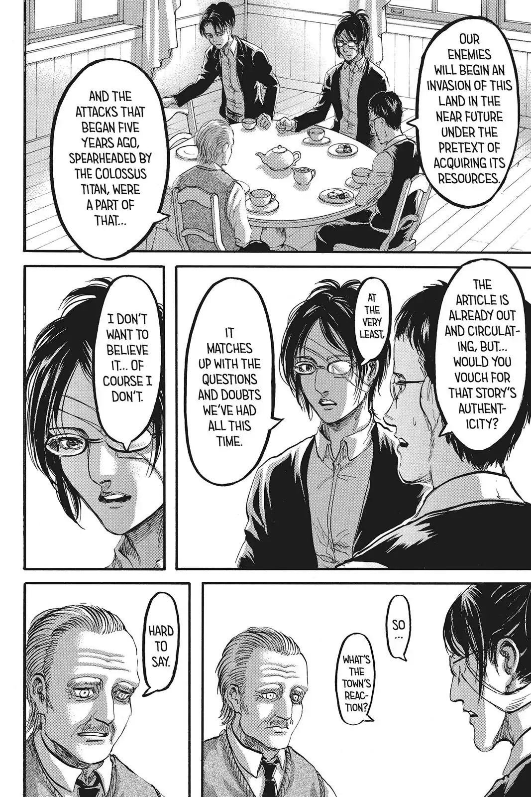 Attack on Titan Chapter 90  Online Free Manga Read Image 6