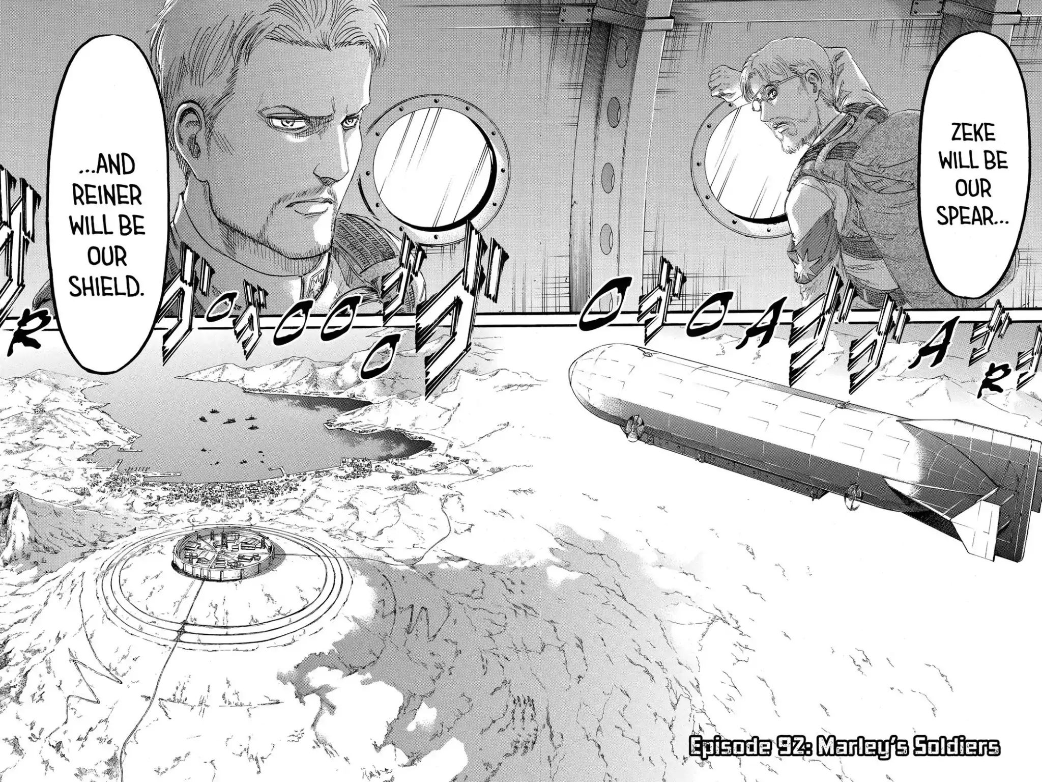 Attack on Titan Chapter 92  Online Free Manga Read Image 2