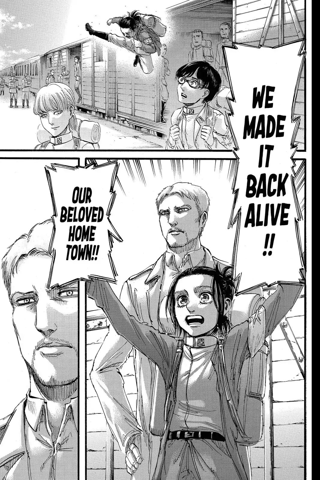 Attack on Titan Chapter 94  Online Free Manga Read Image 1