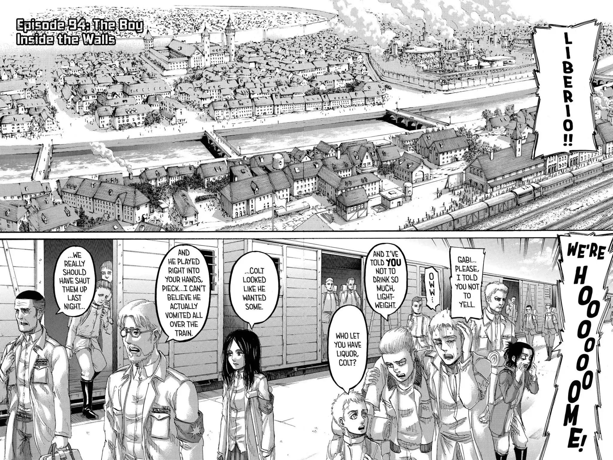 Attack on Titan Chapter 94  Online Free Manga Read Image 2