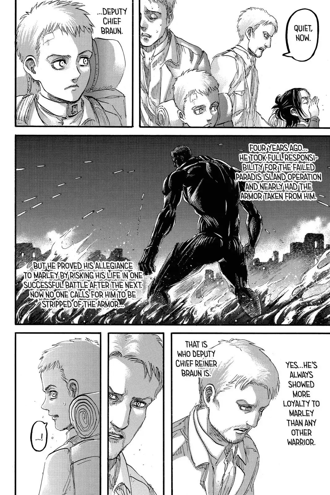 Attack on Titan Chapter 94  Online Free Manga Read Image 3