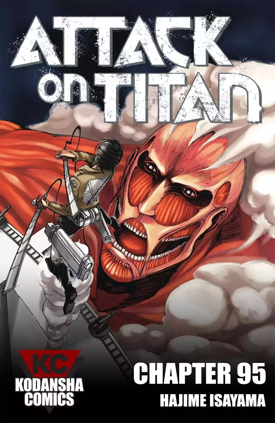 Attack on Titan Chapter 95  Online Free Manga Read Image 1