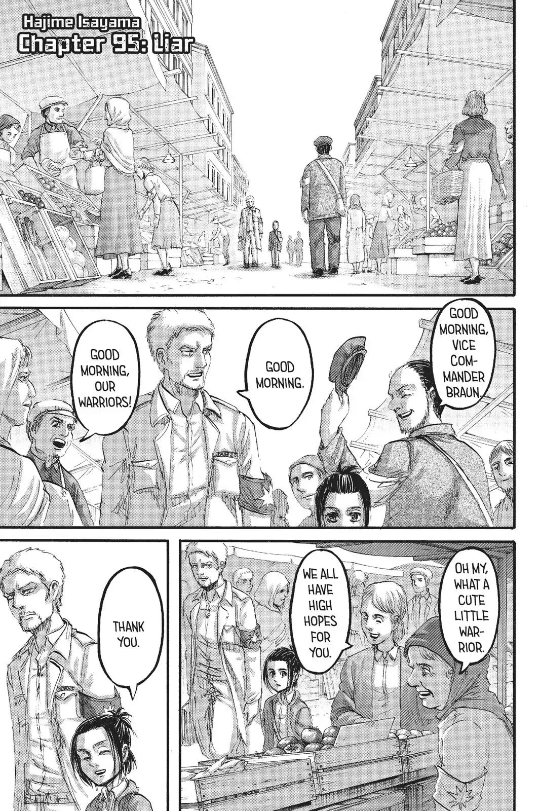 Attack on Titan Chapter 95  Online Free Manga Read Image 2