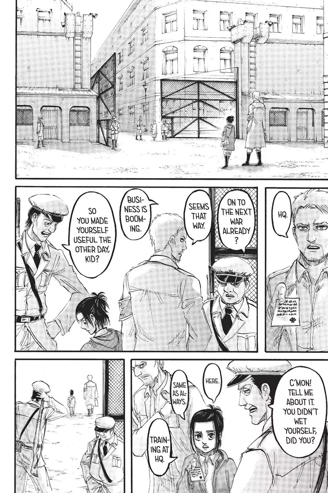Attack on Titan Chapter 95  Online Free Manga Read Image 3