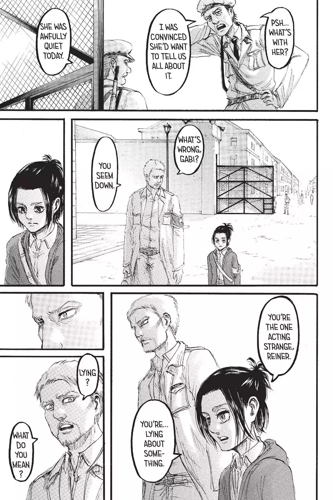 Attack on Titan Chapter 95  Online Free Manga Read Image 4