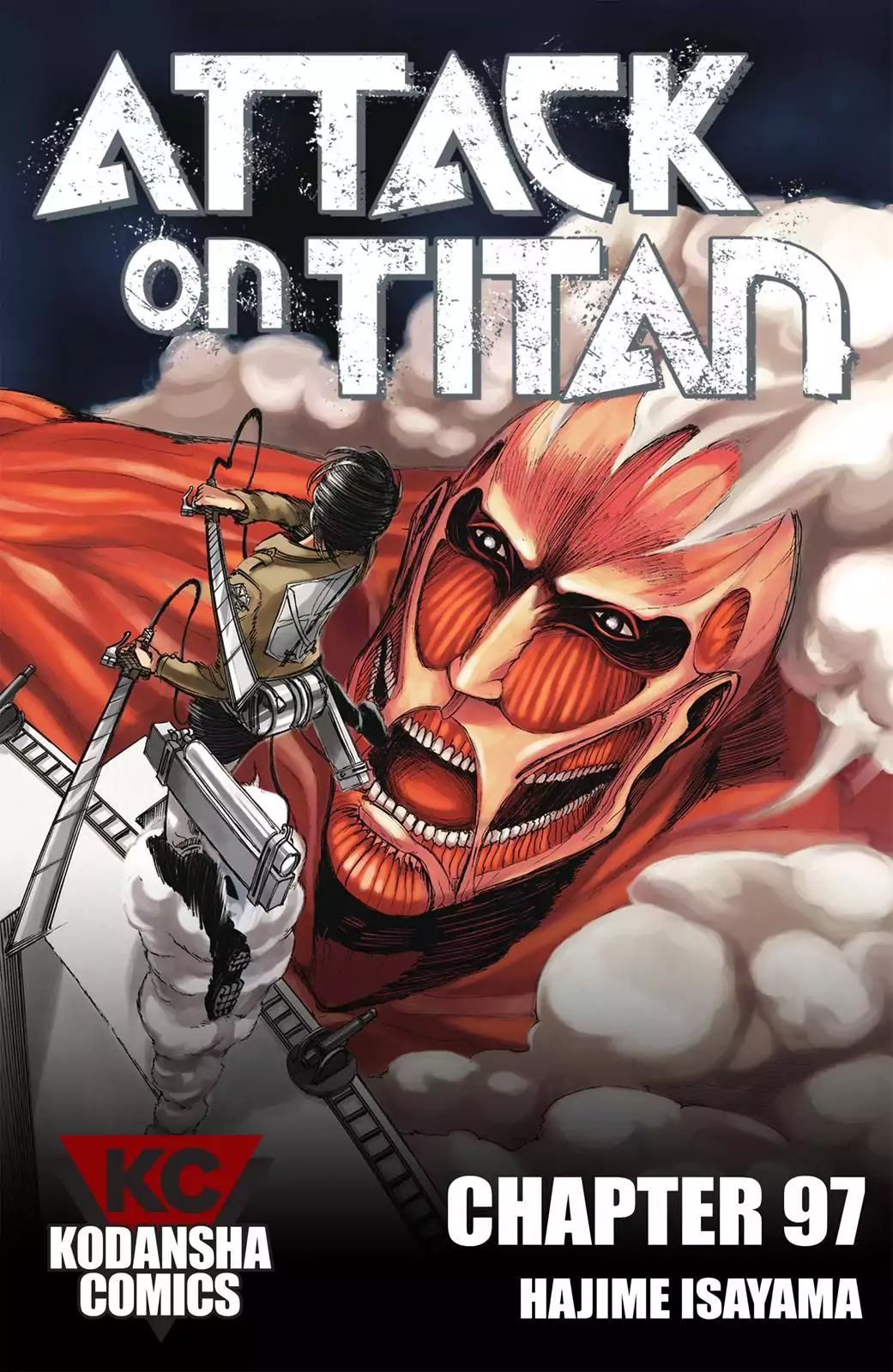 Attack on Titan Chapter 97  Online Free Manga Read Image 1