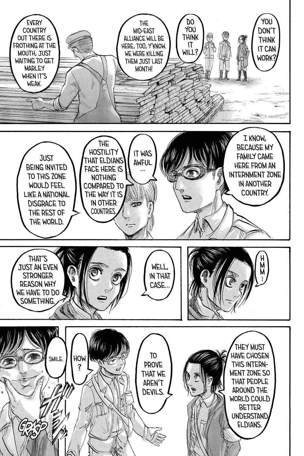 Attack on Titan Chapter 98  Online Free Manga Read Image 12