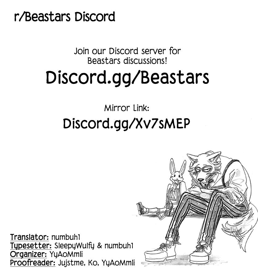 Beastars Chapter 169  Online Free Manga Read Image 20
