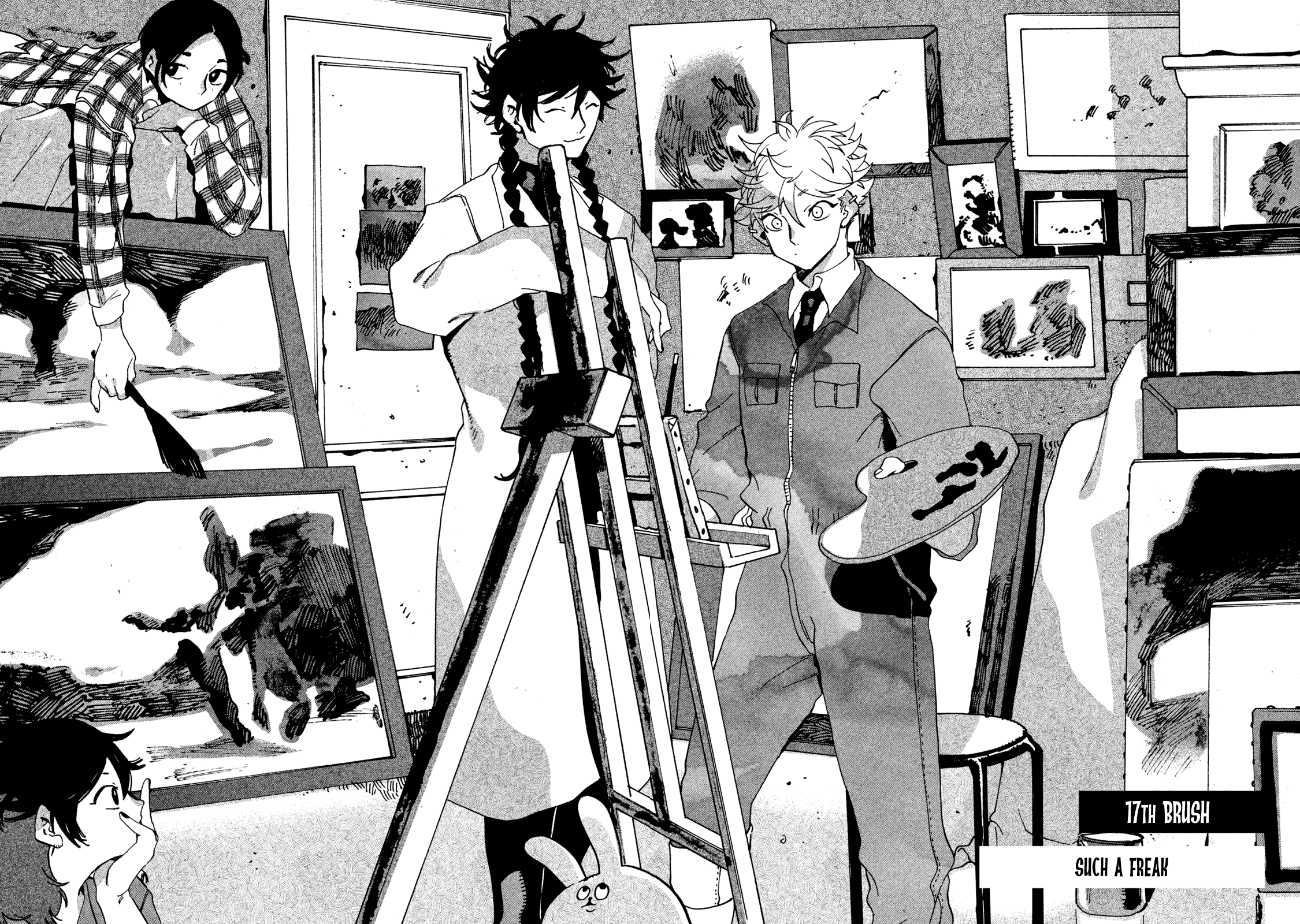 Blue Period Chapter 17  Online Free Manga Read Image 6