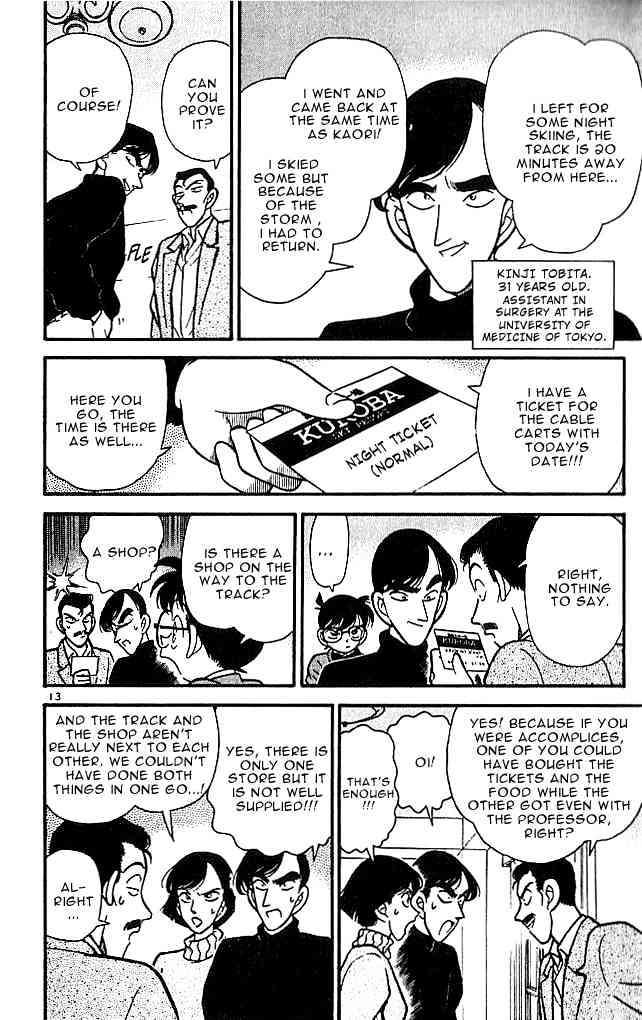 Detective Conan Chapter 100  Online Free Manga Read Image 13