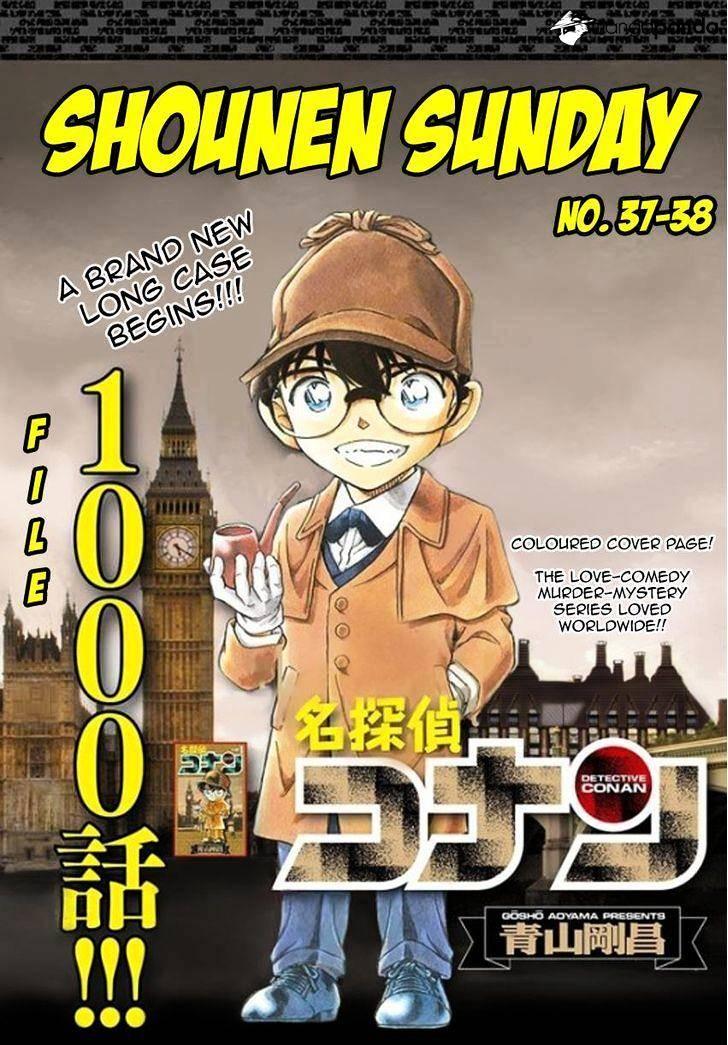 Detective Conan Chapter 1000  Online Free Manga Read Image 2