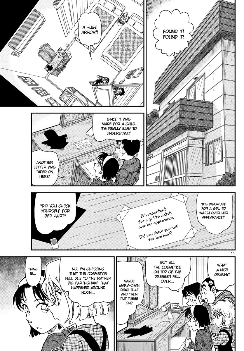 Detective Conan Chapter 1006  Online Free Manga Read Image 11