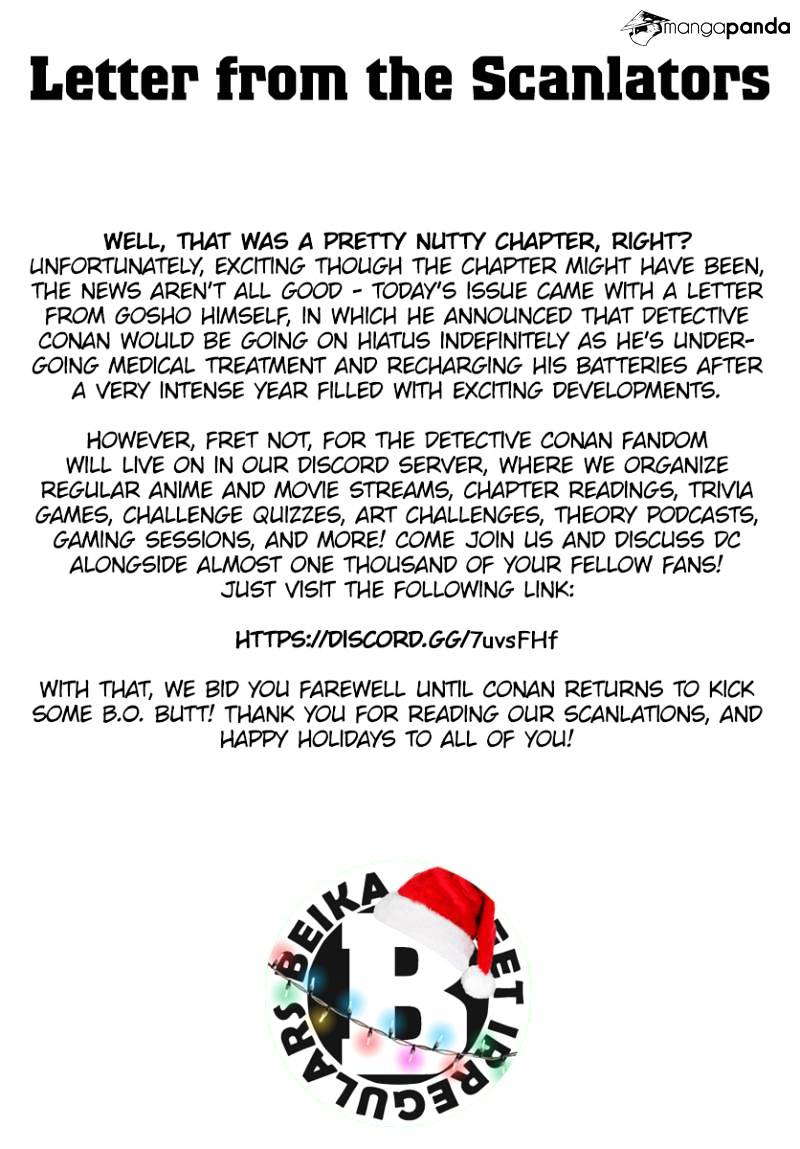 Detective Conan Chapter 1008  Online Free Manga Read Image 19