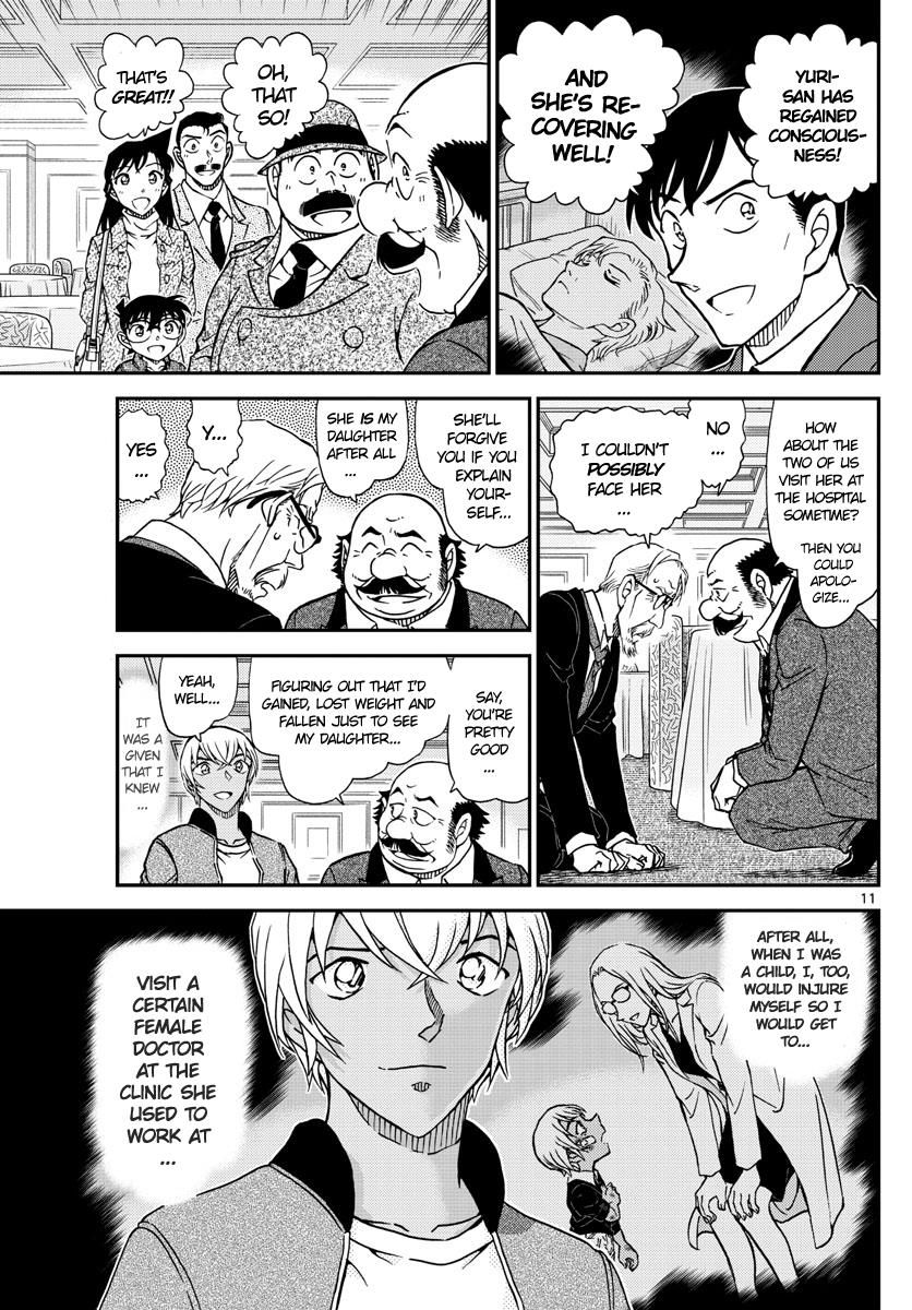 Detective Conan Chapter 1012  Online Free Manga Read Image 11