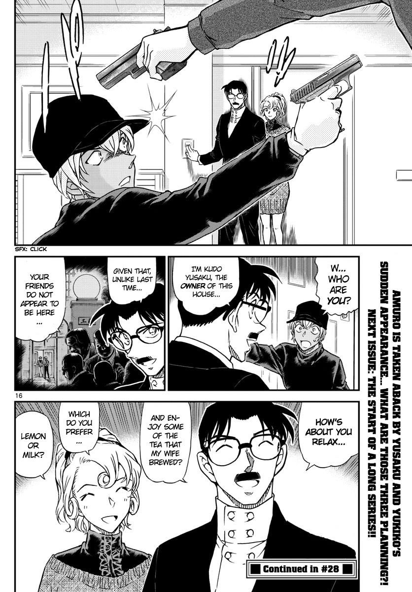Detective Conan Chapter 1012  Online Free Manga Read Image 16