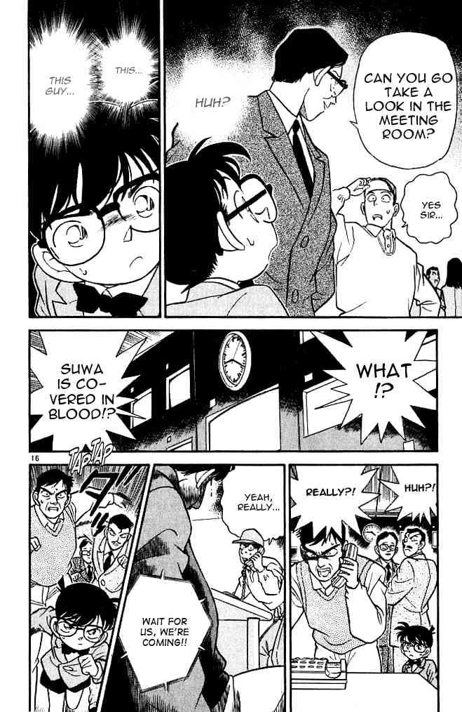 Detective Conan Chapter 102  Online Free Manga Read Image 16