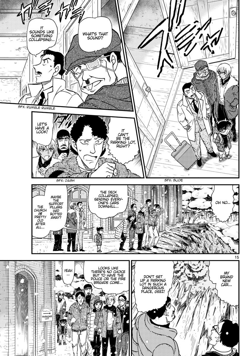 Detective Conan Chapter 1027  Online Free Manga Read Image 15