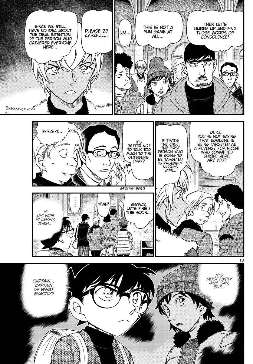 Detective Conan Chapter 1028  Online Free Manga Read Image 14