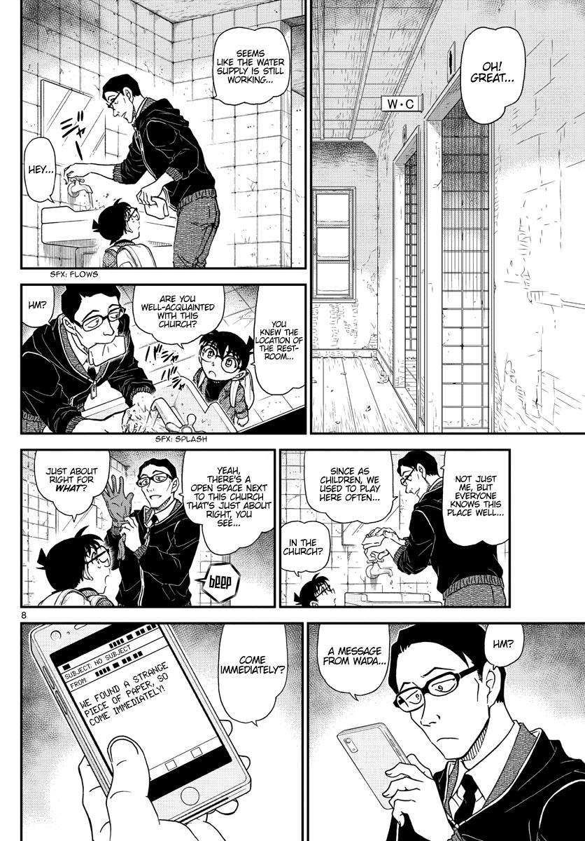 Detective Conan Chapter 1028  Online Free Manga Read Image 9