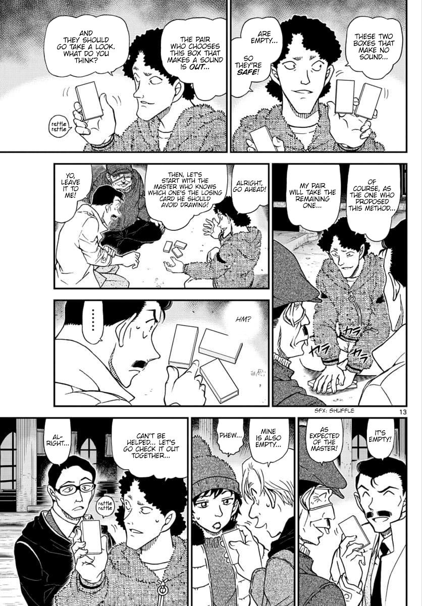 Detective Conan Chapter 1029  Online Free Manga Read Image 13