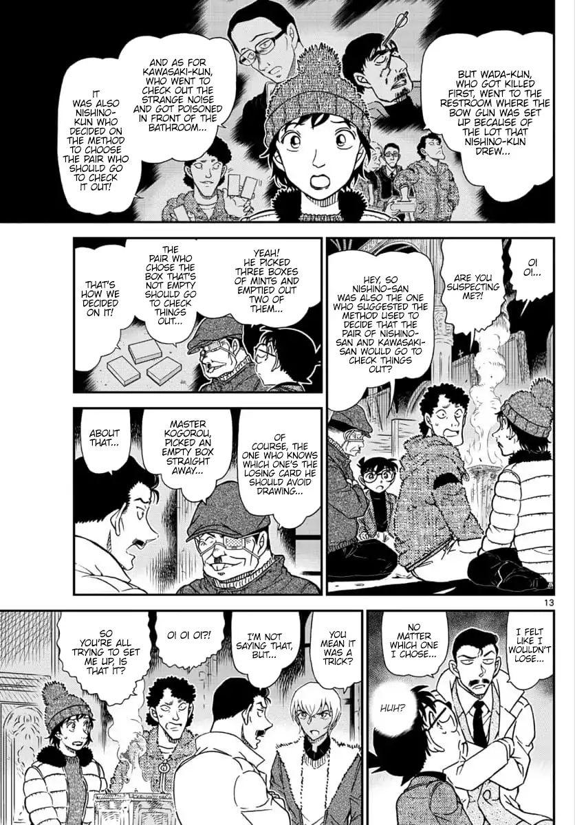 Detective Conan Chapter 1030  Online Free Manga Read Image 13