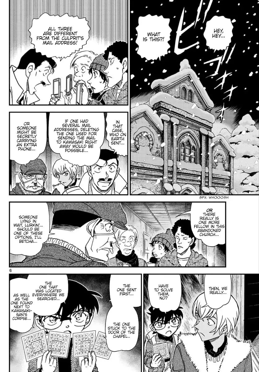 Detective Conan Chapter 1030  Online Free Manga Read Image 6