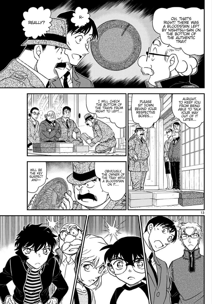 Detective Conan Chapter 1036  Online Free Manga Read Image 13