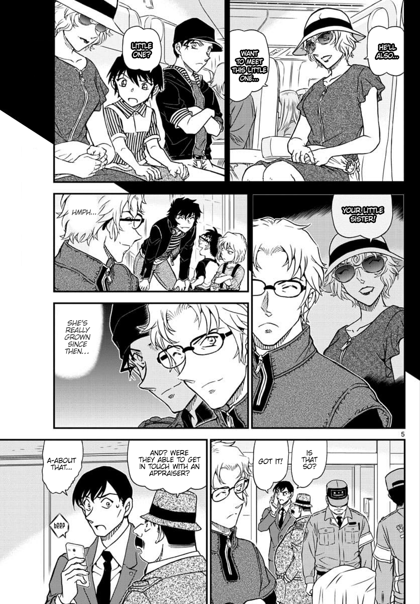 Detective Conan Chapter 1037  Online Free Manga Read Image 5