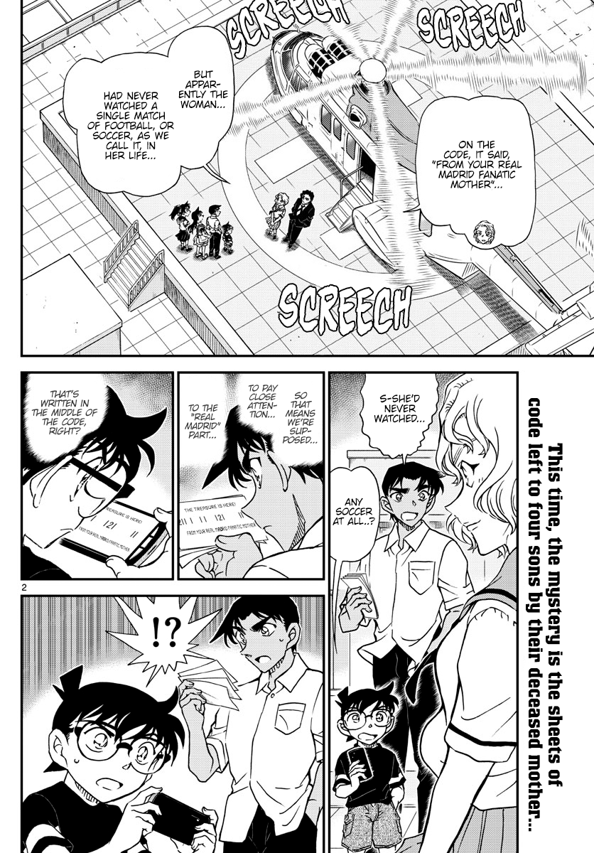 Detective Conan Chapter 1040  Online Free Manga Read Image 2