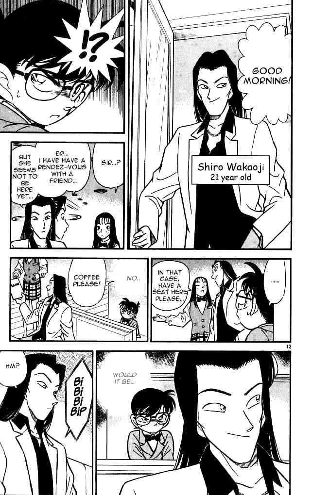Detective Conan Chapter 105  Online Free Manga Read Image 13