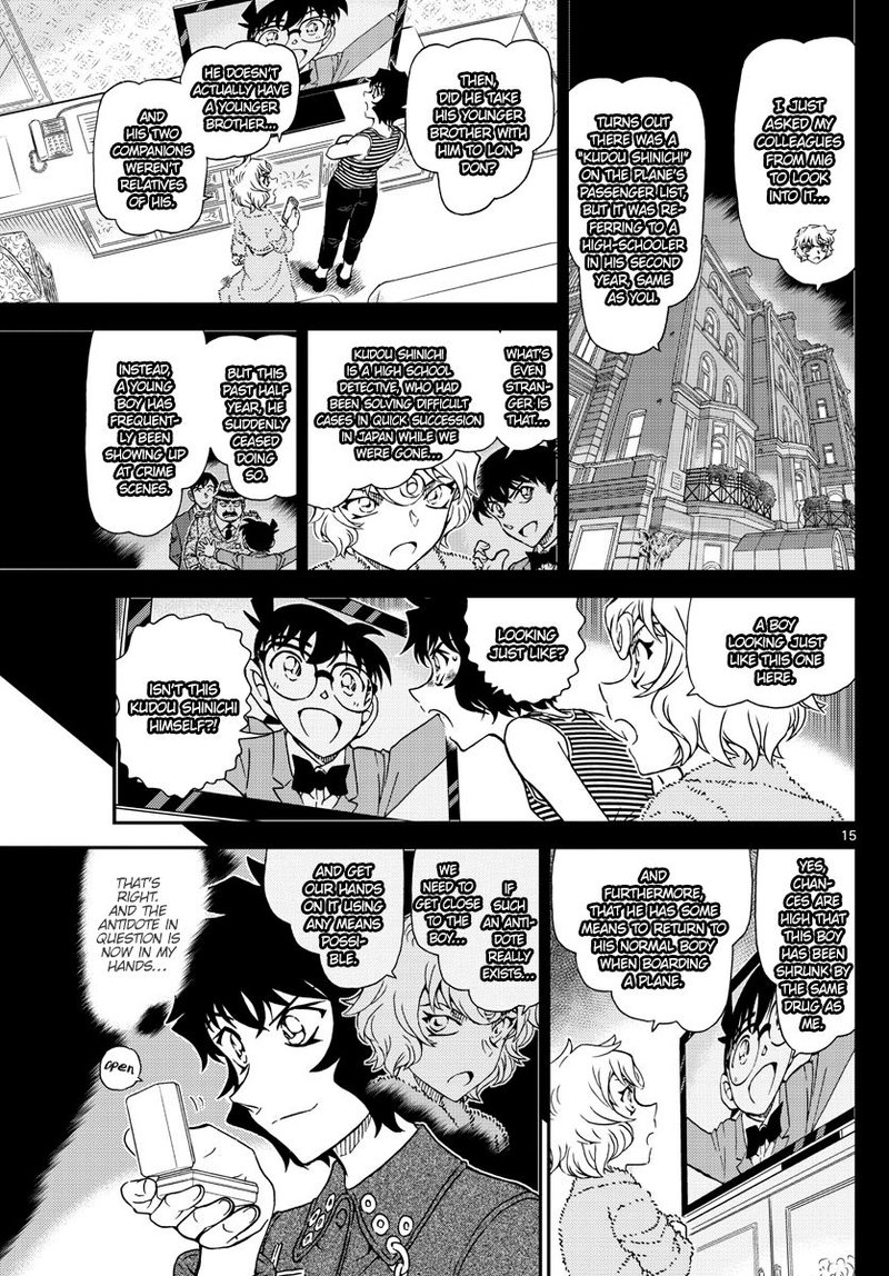 Detective Conan Chapter 1050  Online Free Manga Read Image 16