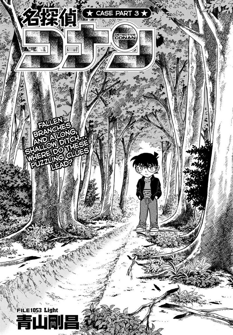 Detective Conan Chapter 1053  Online Free Manga Read Image 1