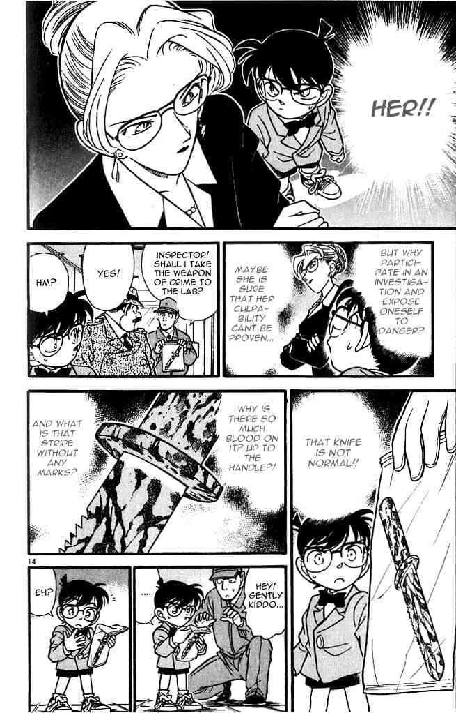 Detective Conan Chapter 106  Online Free Manga Read Image 14