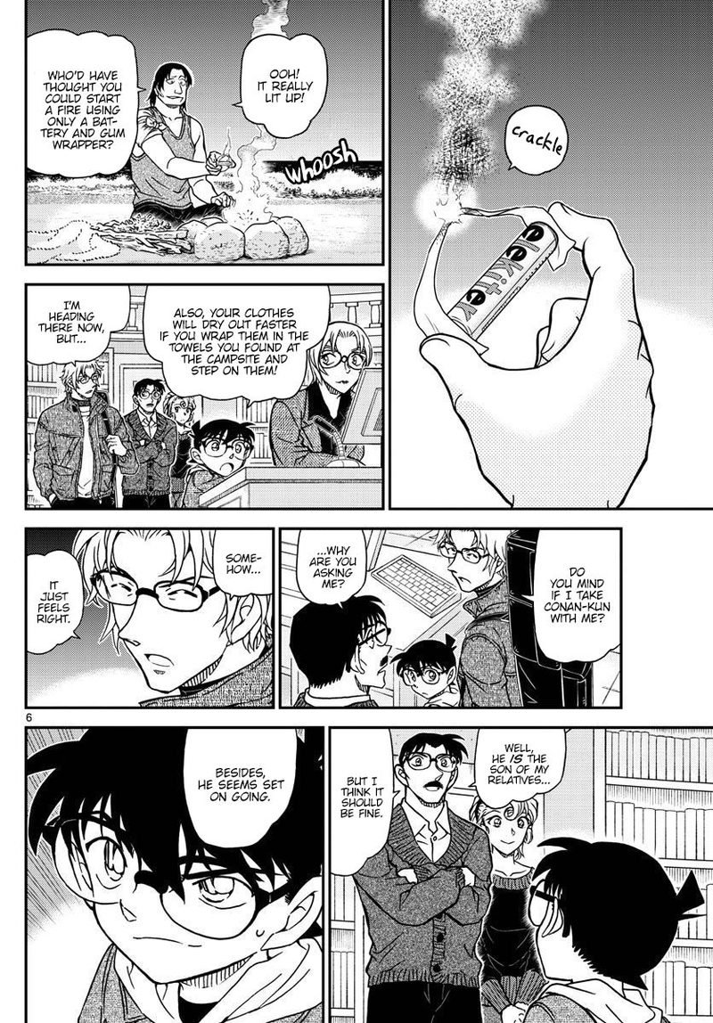 Detective Conan Chapter 1064  Online Free Manga Read Image 6