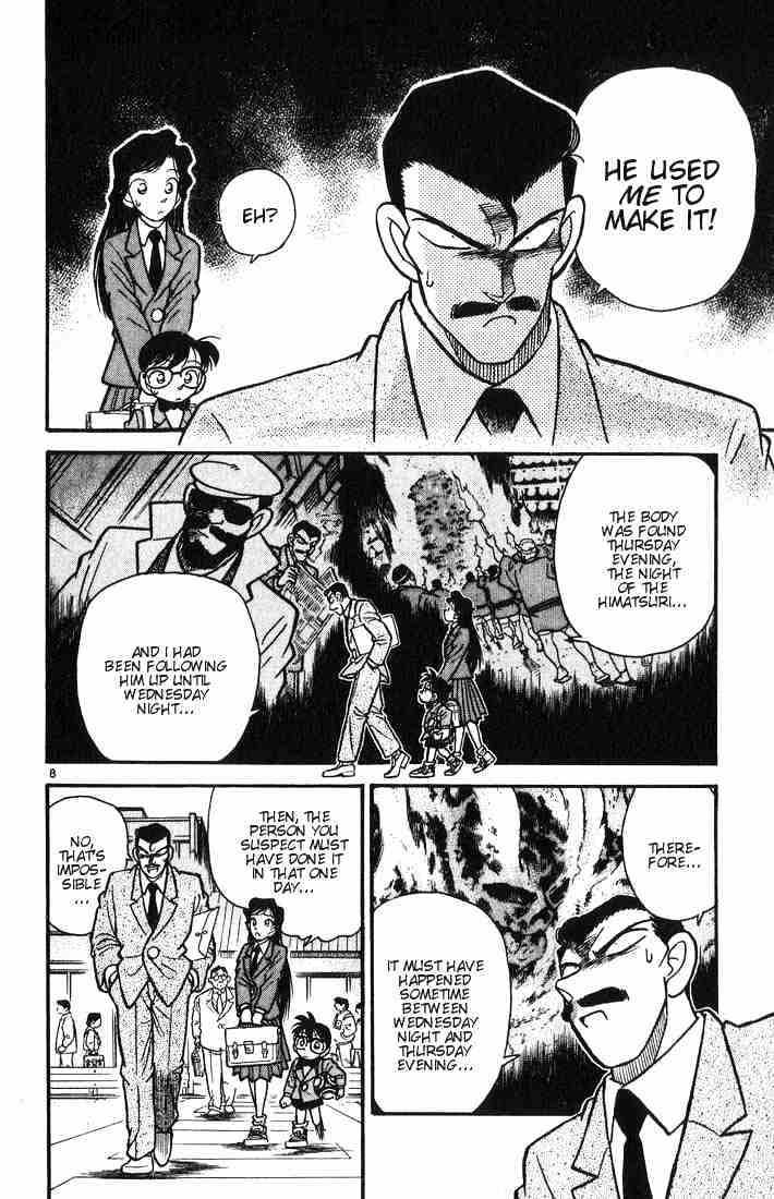 Detective Conan Chapter 11  Online Free Manga Read Image 8