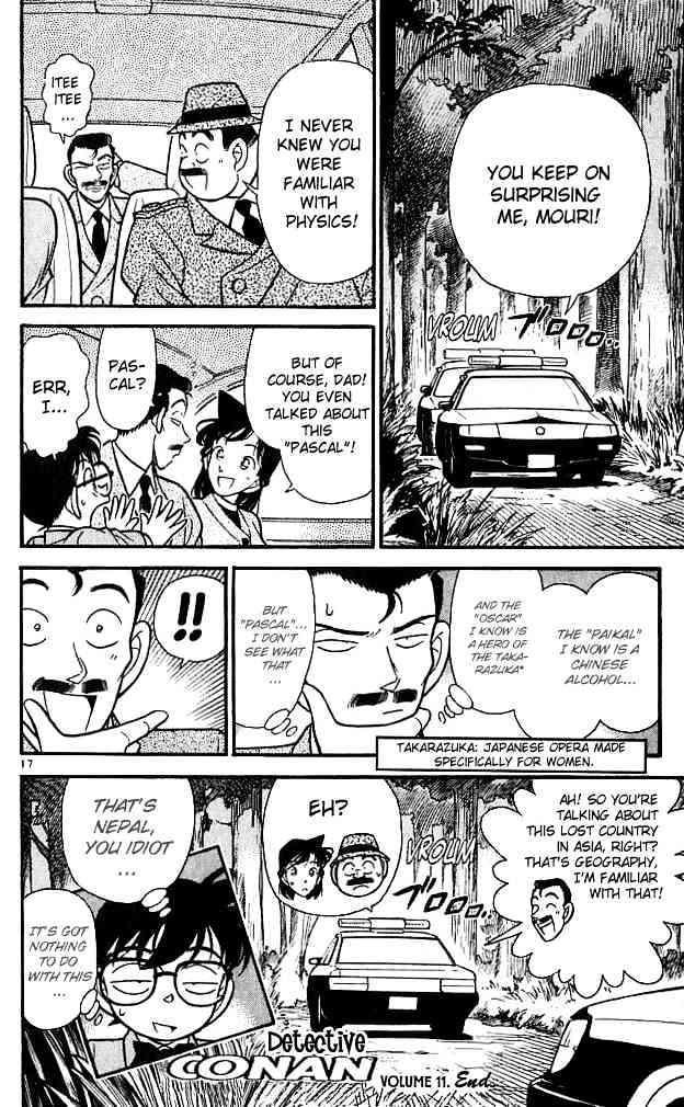 Detective Conan Chapter 110  Online Free Manga Read Image 17
