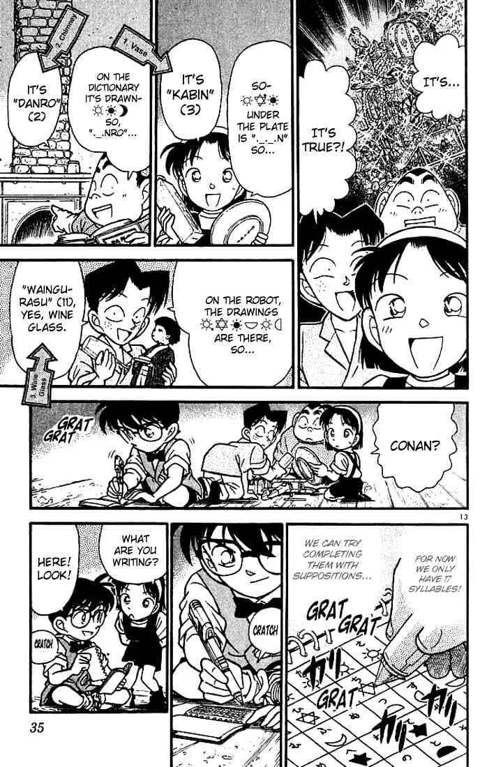 Detective Conan Chapter 112  Online Free Manga Read Image 13