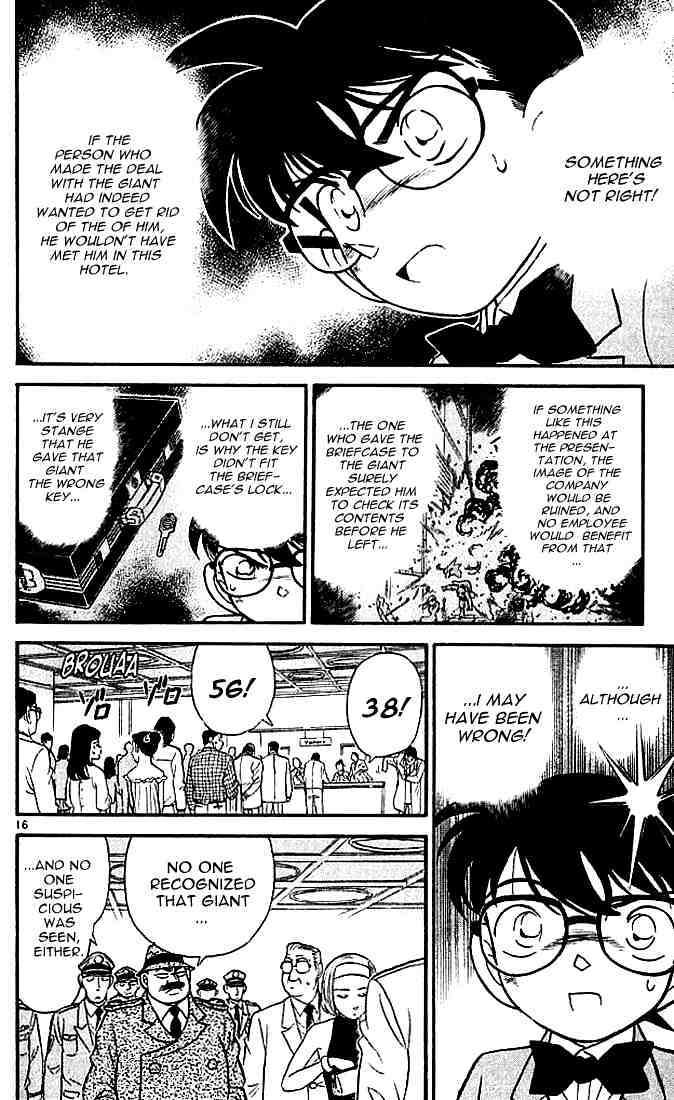 Detective Conan Chapter 115  Online Free Manga Read Image 16
