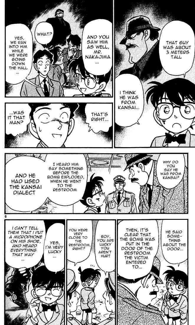 Detective Conan Chapter 115  Online Free Manga Read Image 6