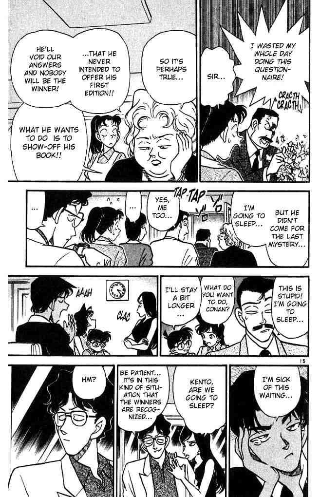 Detective Conan Chapter 117  Online Free Manga Read Image 15