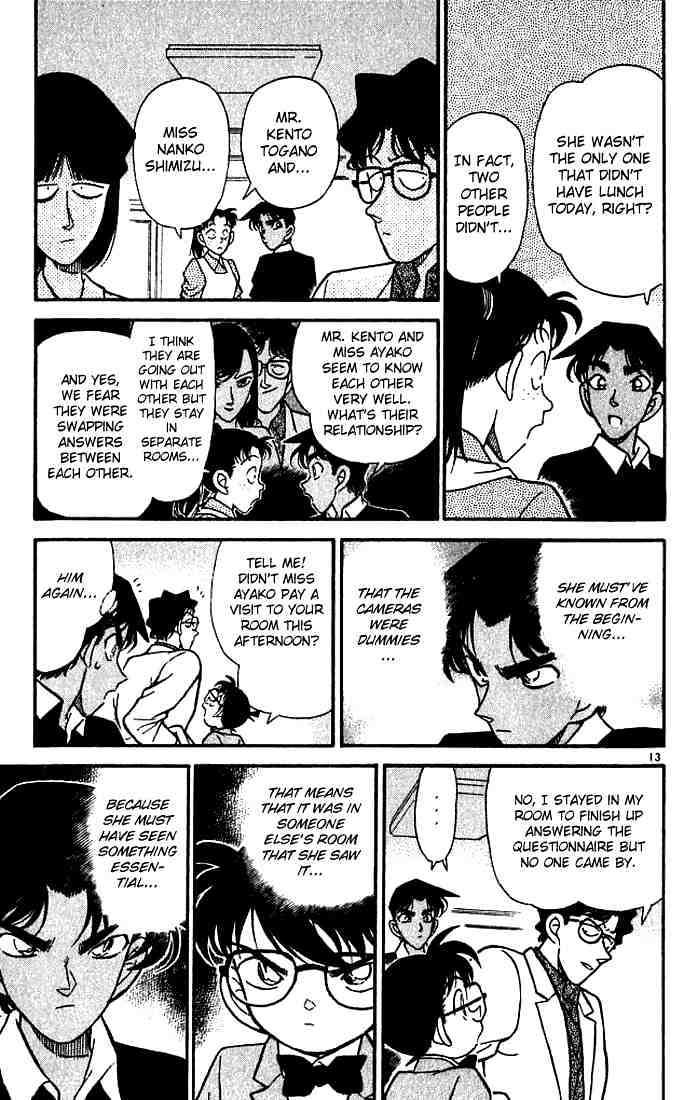 Detective Conan Chapter 118  Online Free Manga Read Image 13