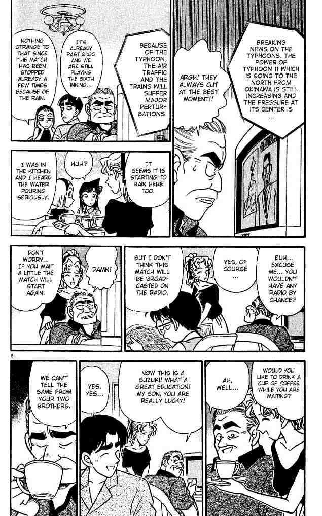 Detective Conan Chapter 122  Online Free Manga Read Image 8