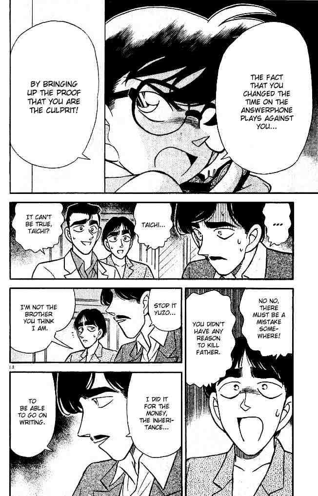 Detective Conan Chapter 124  Online Free Manga Read Image 14