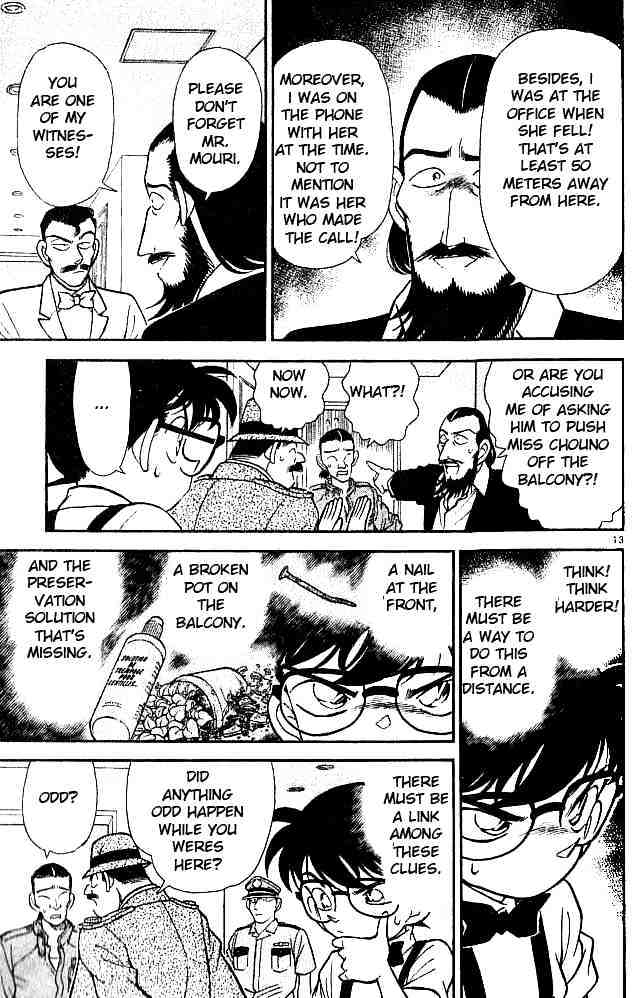 Detective Conan Chapter 126  Online Free Manga Read Image 13