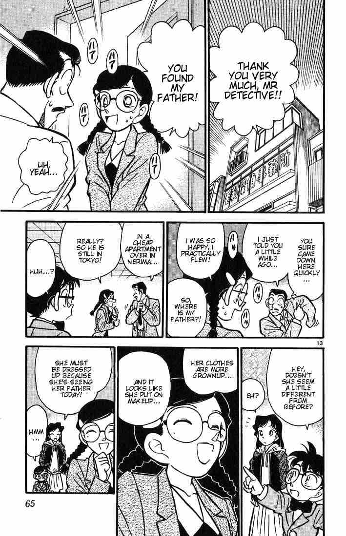 Detective Conan Chapter 13  Online Free Manga Read Image 13