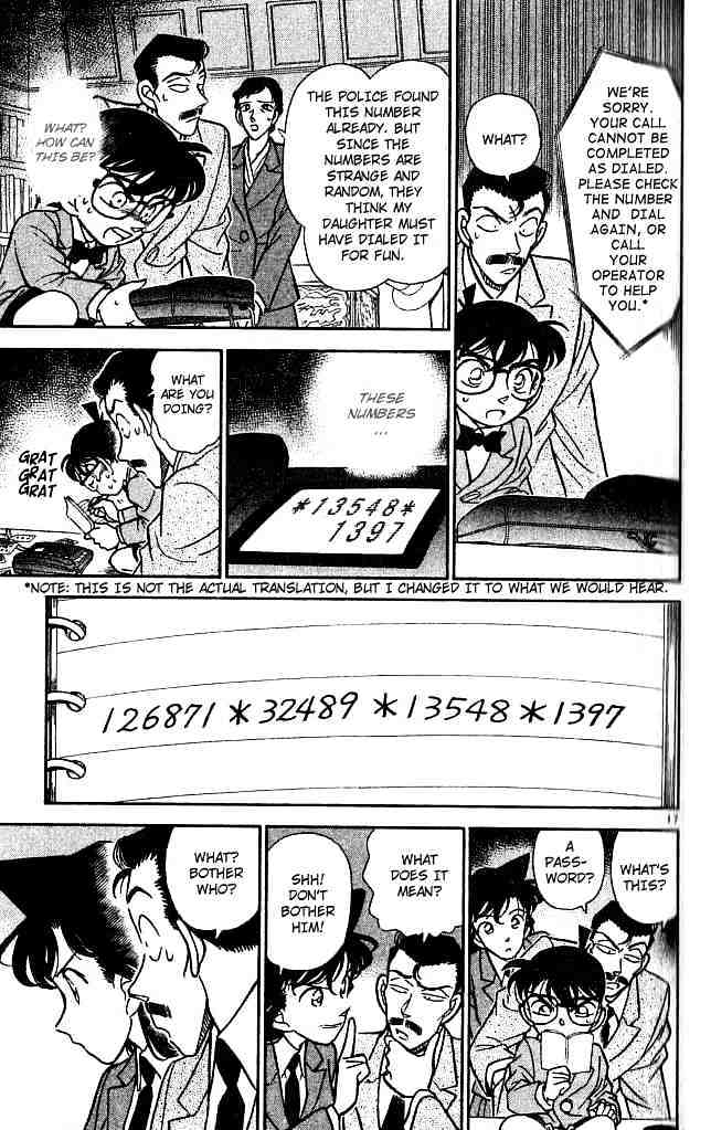 Detective Conan Chapter 132  Online Free Manga Read Image 17