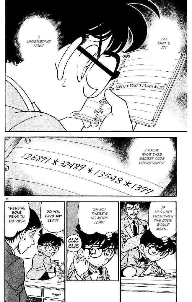Detective Conan Chapter 133  Online Free Manga Read Image 2