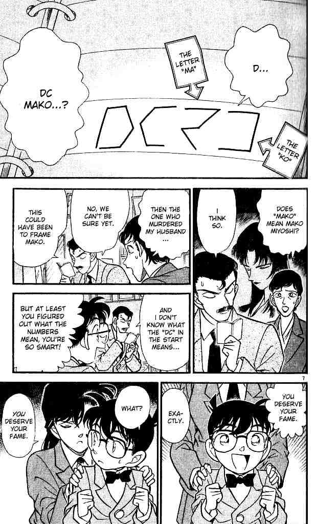 Detective Conan Chapter 133  Online Free Manga Read Image 7