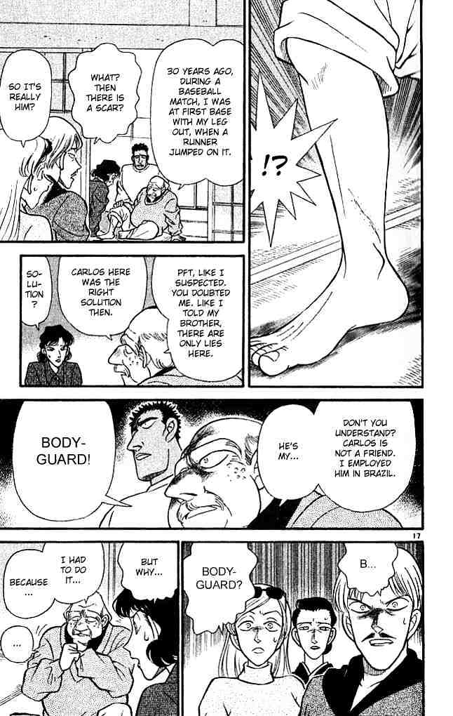 Detective Conan Chapter 134  Online Free Manga Read Image 16